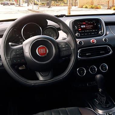 Fiat 500x crossover awd de fiat for 500x interior