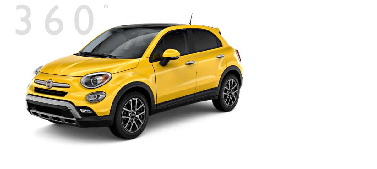 fiat 500x trekking plus adventurous crossover. Black Bedroom Furniture Sets. Home Design Ideas