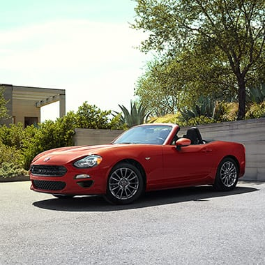 2017 FIAT 124 Spider from the front