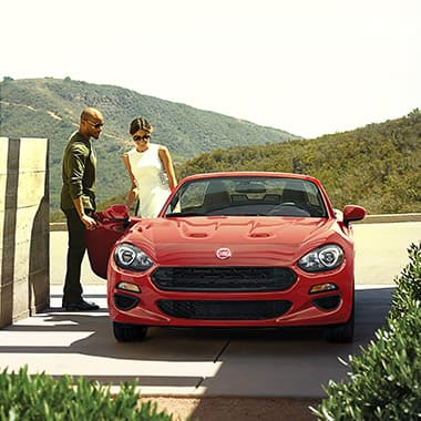 2017 FIAT 124 Spider seats two