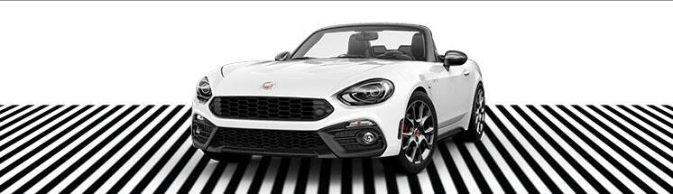 2017 FIAT 124 Spider Lusso - top down