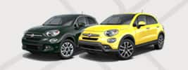 Yellow and Grey FIAT 500X
