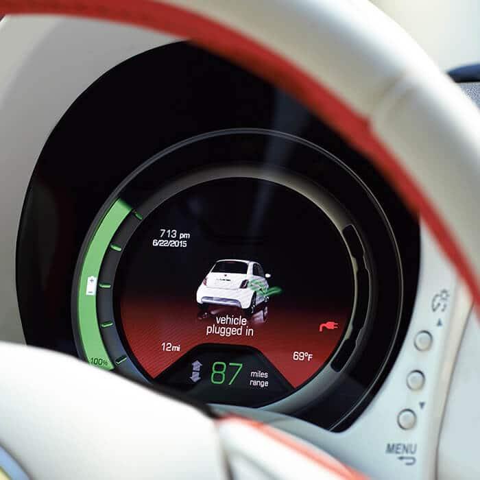 2019 Fiat 500e Fiat Electric Car