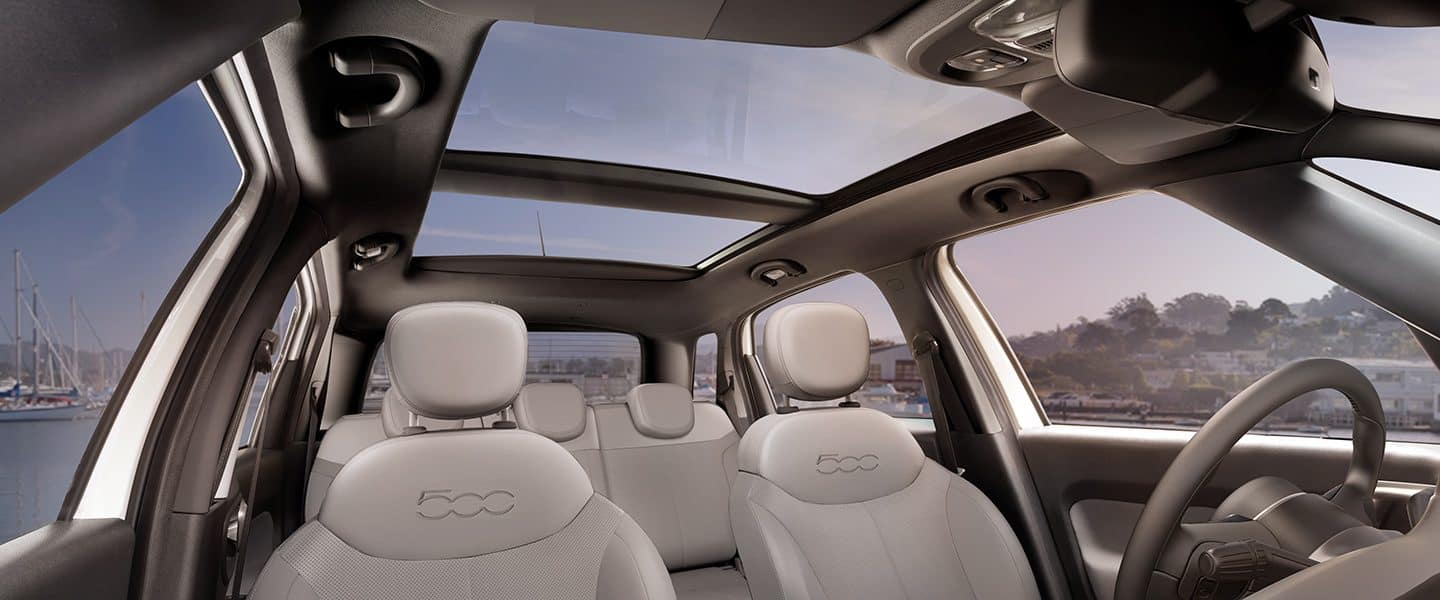 2019 Fiat 500l Interior Features Seating Cargo Space
