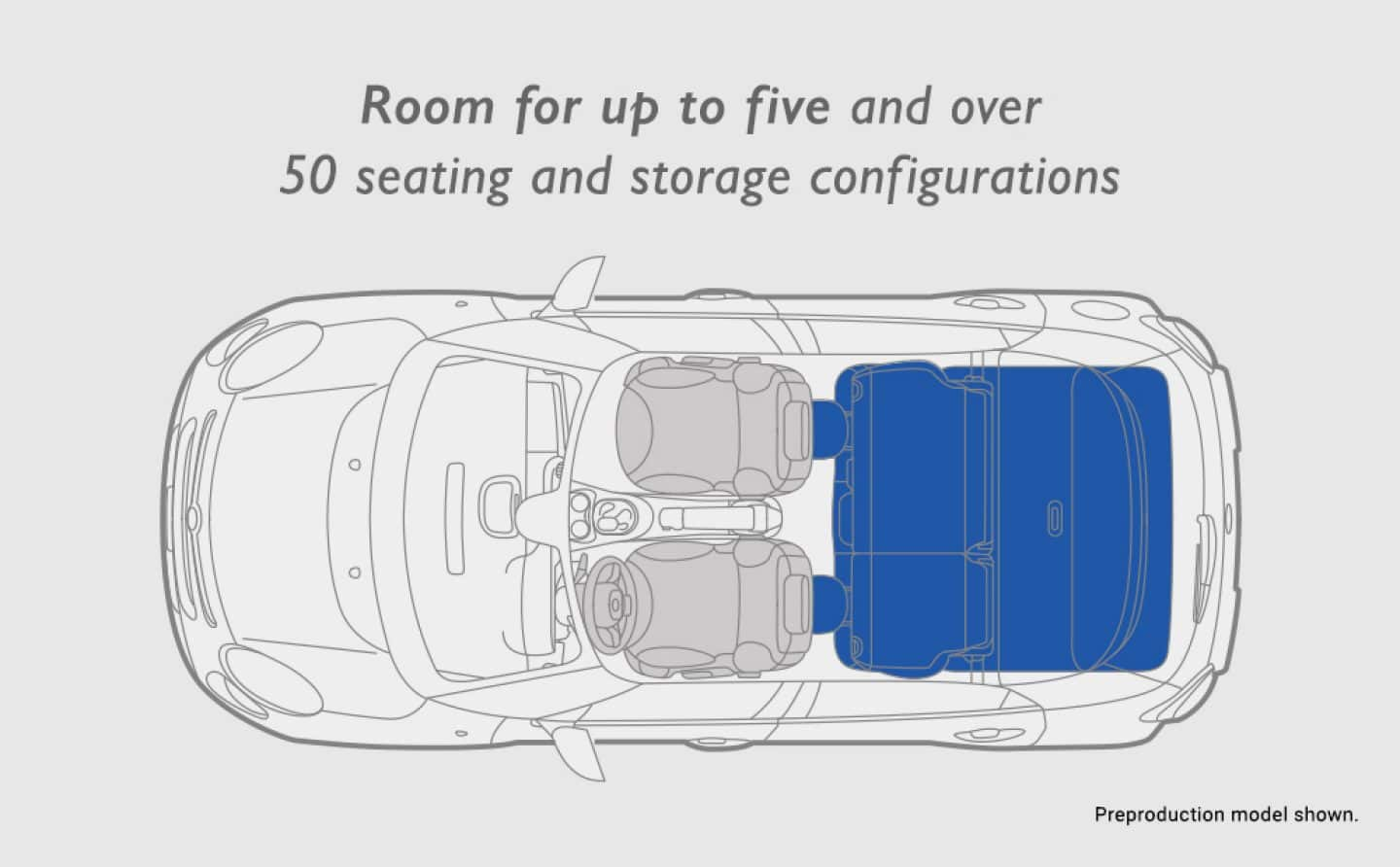 SEATING THAT SATISFIES. The interior of the FIAT® 500L ...
