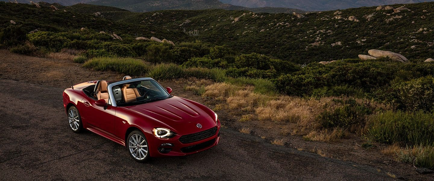 2019 FIAT 124 Spider packages.