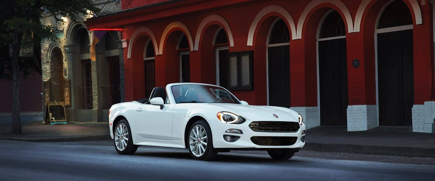 2019 FIAT 124 Spider safety and security.