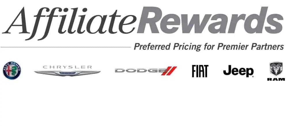FIAT Affiliate Rewards - 1 below factory invoice