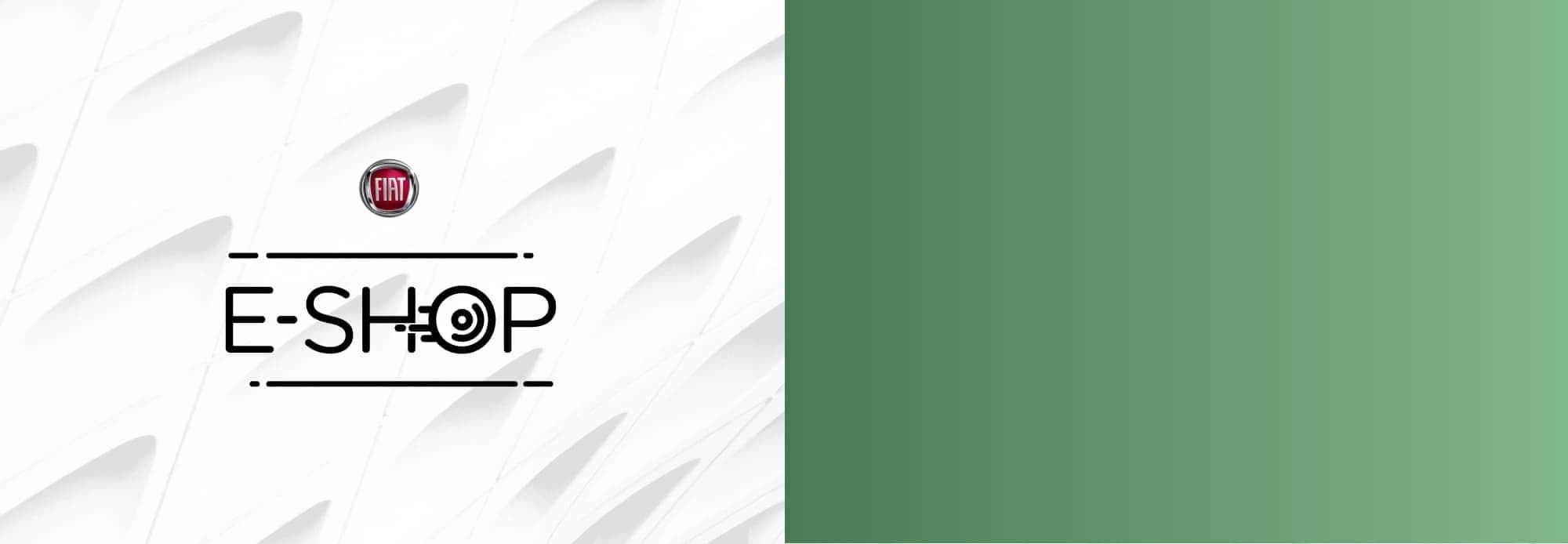 Logo deE-Shop de Fiat.