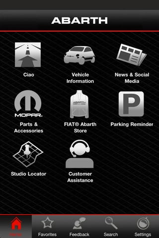 My Fiat App screenshot1