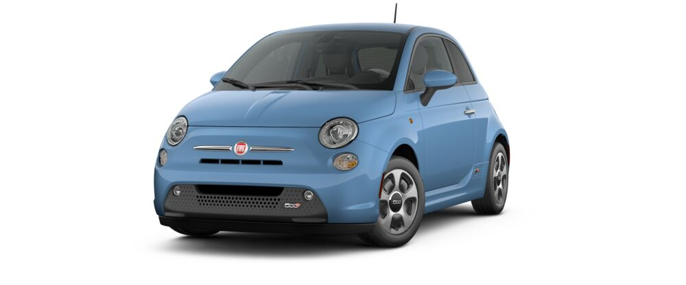 FIAT E Electric Car - Best selling car in us map